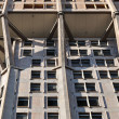 Velasca tower concrete emboss, milan — Foto Stock