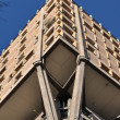 Velasca tower brutalist skyscraper, milan — Stock Photo