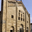 San michele church, pavia - Stockfoto