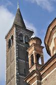 Sant eustorgio tower, milano — Stock Photo