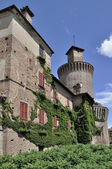 замок сартирана ломеллина — Стоковое фото