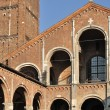 St ambrogio arches, milano — Stock Photo