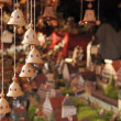 Little bells at medieval market, esslingen — Stock Photo