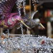 Stock Photo: Glass bird at medieval market, esslingen