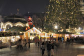 Christmas market, stuttgart — Stock Photo