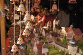 Little bells at medieval market, esslingen — Stock Photo
