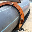 Plastic pipeline — Stock Photo