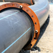 Stock Photo: Plastic pipeline