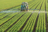 Landbouw trekker — Stockfoto
