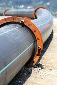 Plast pipeline — Stockfoto