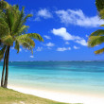 Mauritius: wonderful beach — Stock Photo