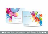 Vector cards — Stock Vector
