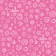 Pink dream - seamless pattern - Stock Vector