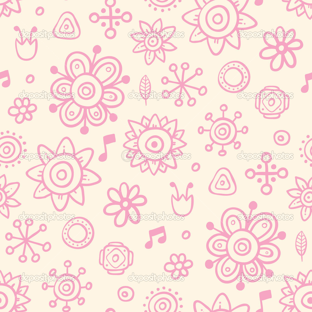 cute pink wallpaper stock vector miaou miaou 6858128