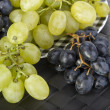 Grapes on plate — Stock Photo #6826988