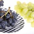Grapes on plate — Stock Photo #6827090