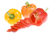 Fresh peppers — Stock Photo