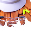 Stock Photo: Safety tools
