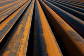 Rusty pipes — Stock Photo