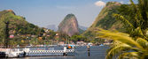 View of the sugarloaf in Rio de Janeiro — Stock Photo