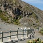 Around the Irazu Volcano crater — Stock Photo