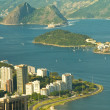 Rio de Janeiro's unique landscape mixing city, mountains, ocean — Stock Photo #7547840
