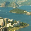 Stock Photo: Rio de Janeiro's unique landscape mixing city, mountains, ocean