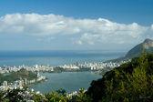 Lagoa Rodrigo de Freitas in Rio de Janeiro — Stock Photo
