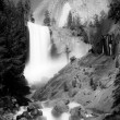 The Mist Trail and Vernal Fall — Foto de Stock