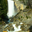 The Mist Trail and Vernal Fall — Stock Photo