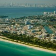 Miami Beach Seashore — Stock Photo