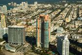 Buildings Miami Style — Stock Photo