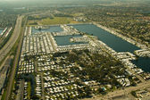 Aerial Views of Miami — Stock Photo