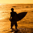 Portrait of a Surfer Boy — Stock Photo