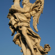 Angels on the Sant'Angelo bridge — Stock Photo