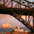 Sydney Bridge and Opera House — Stock Photo