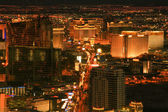 Las Vegas Night Shot — Stock Photo