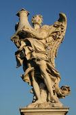 Angels on the Sant'Angelo bridge — Stockfoto