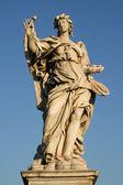 Angels on the Sant'Angelo bridge — Stock Photo