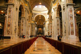 Interior of the Basilica di San Pietro — Stock Photo