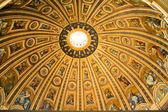 Basilica di San Pietro Ceiling — Stock Photo
