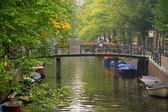 Amsterdam River — Stock Photo