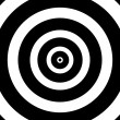 Stock Photo: Concentric Circles Target