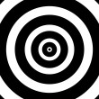 Concentric Circles Target — Stock Photo