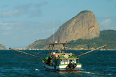 Сахарная голова в Рио-де-Жанейро — Стоковое фото