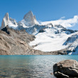 Stock Photo: Fitz Roy Mountain 5