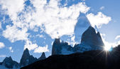 Fitz Roy Mountain — Stock Photo