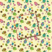 Wllpaper floral primavera verano pascua de patrones sin fisuras con los pájaros — Vector de stock