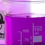 Laboratory beakers — Stock Photo