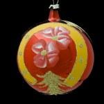 Red christmas ball — Stock Photo #7134717